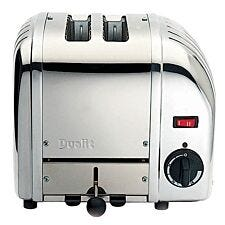 Dualit 20245 Vario 2 Slice Toaster - Polished Stainless Steel