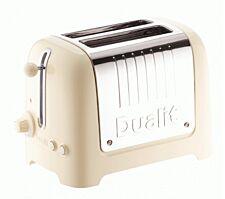 Dualit 2 Slot Lite Toaster - Cream