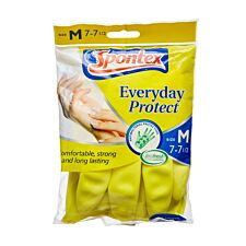 Spontex Everyday Protect Medium Household Gloves