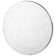 Tala 10 Inch Round Cake Board, Silver Foil