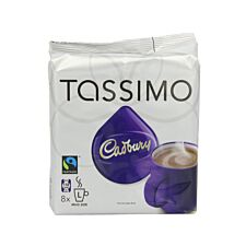 Tassimo Cadbury's Hot Chocolate Refill Pods - 8 Cups