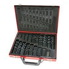 Hilka 170 Pce Hss Drill Bit Set Pro Craft