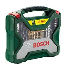 Bosch X-Line 70-Piece Drill and Screwdriver Accessory Set