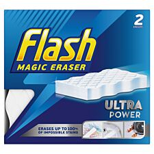 Flash Magic Eraser Extra Power - 2 Pack