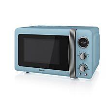 Swan SM22030BLN 800W 20L Digital Solo Microwave - Blue