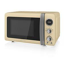 Swan SM22030CN 800W 20L Digital Solo Microwave - Cream