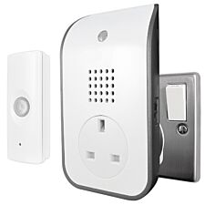 Uni-Com Premium Plug-Through Door Chime
