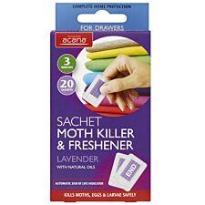 Acana Moth Killer & Freshener Sachets