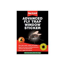 Rentokil Advanced Fly Trap Window Sticker