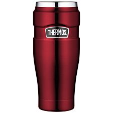Thermos Stainless Steel King Travel Tumbler – Red