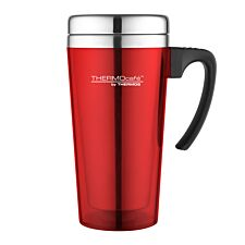 Thermos ThermoCafe Zest 400ml Travel Mug – Red
