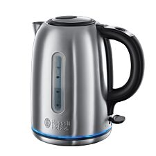 Russell Hobbs Buckingham Quiet Boil 1.7L Cordless Kettle - Stainless Steel