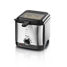 Swan SD6060N 1.5L Stainless Steel Fryer - Silver