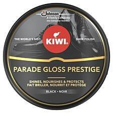Kiwi Wax Tin Parade Gloss Polish 50ml Black