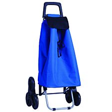 Stowaway 6-Wheel Shopping Trolley with Bag