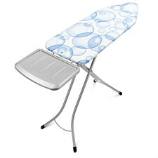 Brabantia 124 x 45cm Ironing Board with Steam Holder - Bubbles