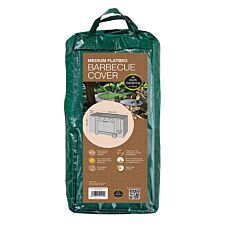 Medium Flat Trolley BBQ Cover - H74 x W130 x D63cm