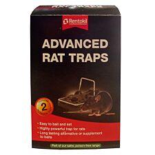 Rentokil Advanced Rat Traps - Twin Pack