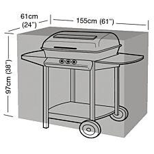 Garland Classic Large Universal Flat Trolley BBQ Durable PVC Cover