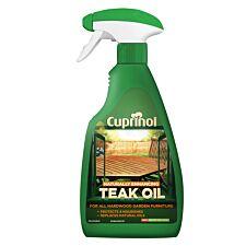 Cuprinol Hardwood Teak Oil Spray – 500ml