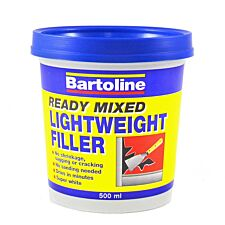 Bartoline 500ml Lightweight Filler - White