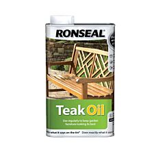 Ronseal Teak Oil – 500ml