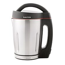 Salter 1000W Electric Soup Maker Jug 1.6L - Stainless Steel