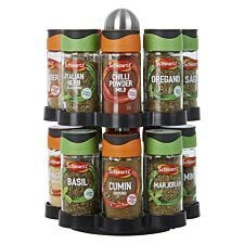 Schwartz Rotating 16 Jar Spice Rack