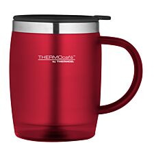 Thermos ThermoCafe 450ml Thermal Desk Mug - Red