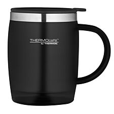 Thermos ThermoCafe 450ml Thermal Desk Mug - Black