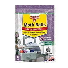 ZERO IN Moth Balls – Pack of 10