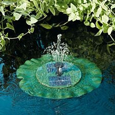 Smart Solar Lily Pad Water Feature