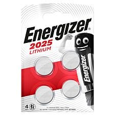 Energizer CR2025 Batteries - 4 Pack