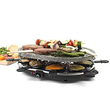 Giles & Posner 8-Piece Stone Raclette Cooking Set