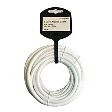 Vivanco 3 Core 0.75mm Cable