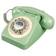 Wild & Wolf 1960s Design 746 Corded Telephone– Green