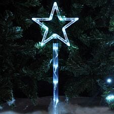 Star LED Stake Lights – Set of 4