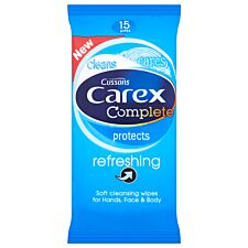 Carex Refreshing Wipes – 15 Pack