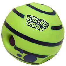 JML Wobble Wag Giggle Ball Dog Toy - Green