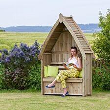 Zest4Leisure Cheltenham Garden Arbour With Storage Box