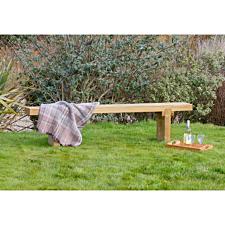 Zest4Leisure Simple Wooden Garden Bench
