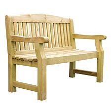 Zest4Leisure Emily 2-Seater Wooden Garden Bench