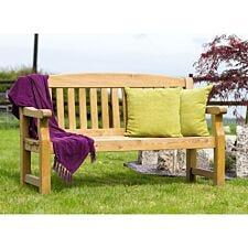 Zest4Leisure Emily 3-Seater Wooden Garden Bench