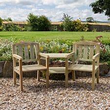 Zest4Leisure Wooden Caroline Companion Seat