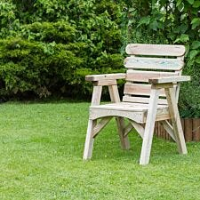 Zest4Leisure Wooden Abbey Chair