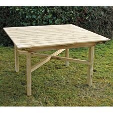 Zest4Leisure Wooden Abbey Square Table