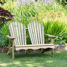 Zest4Leisure Lily Relax 2-Seater Wooden Bench