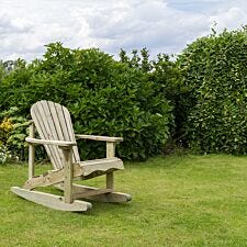 Zest4Leisure Wooden Lily Rocking Chair