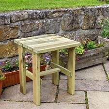 Zest4Leisure Wooden Lily Side Table
