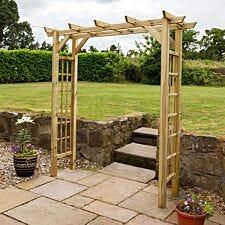 Zest4Leisure Twilight Wooden Garden Arch